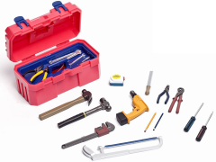1/6 Scale Hand Tools Set (Red)