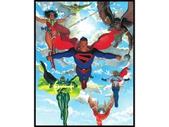 DC Comics Alex Ross: Super Descent Canvas Art Print