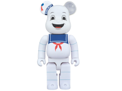 Ghostbusters Bearbrick Stay Puft Marshmallow Man 400%