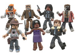 The Walking Dead Minimates Series 6 Two Pack Set of 4