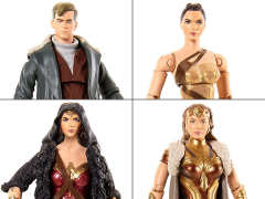 "Wonder Woman 6"" Multiverse Figure Ares Wave - Set of 4"