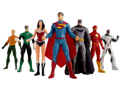 Justice League The New 52 Bendable Figure Seven-Pack