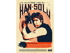 Star Wars Legends Han Solo Displate Metal Print