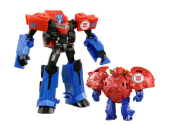 Transformers Adventure TAV-41 Optimus Prime With Gravity & Armor