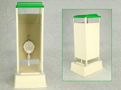 Mabell Original Miniature Model Series 1/12 Scale Portable Toilet (TU-R1S)
