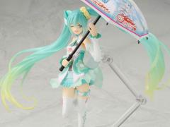Vocaloid figma Racing Miku (2017 Ver. With Bonus Item)