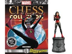 Marvel Chess Figure Collection #81 - Spider-Woman White Bishop