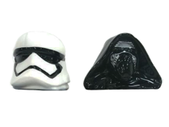 Star Wars Kylo Ren & Stormtrooper Helmets Salt & Pepper Shakers