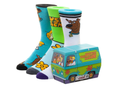 Scooby Doo Mystery Machine Crew Socks Three-Pack