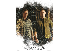 Supernatural The Winchester Brothers MightyPrint Wall Art
