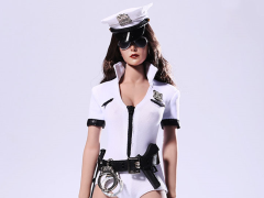 1/6 Scale Cosplay Police Woman Set - White