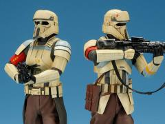 Star Wars ArtFX+ Shoretrooper Squad Leader & Captain Statue Two Pack (Rogue One)