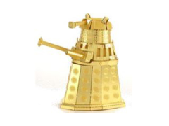 Doctor Who Metal Earth Model Kit - Gold Dalek