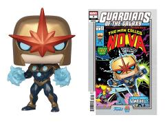 Pop! Marvel: Nova Prime PX Previews Limited Edition Exclusive (With Comic Book)