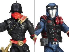 G.I. Joe 50th Anniversary Wave 4 Sinister Allies Versus Two Pack BBTS Exclusive