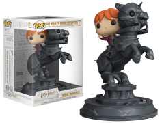 Pop! Movies: Harry Potter Movie Moments - Ron Weasley Riding Chess Piece