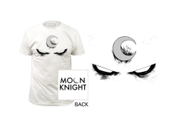 Marvel Moon Knight White Eyes T-Shirt