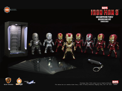 Iron Man 3 DX01 Earphone Plug Deluxe Box of 8