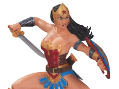 Wonder Woman: The Art of War Statue By Garcia Lopez