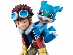 Digimon Adventure 02 - 1/10 Scale G.E.M. Figure - Motomiya & V-Mon