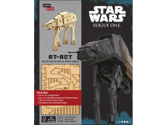 Star Wars IncrediBuilds AT-ACT Deluxe Book & 3D Wood Model Kit