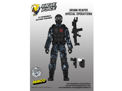 "Eagle Force 4"" Action Figure Series 01 - Grimm Reaper Trooper"