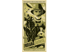 Indiana Jones Have the Adventure of Your Life Canvas Wrapped Print (Last Crusade)