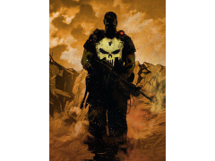 Marvel Dark Edition Punisher Displate Metal Print