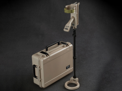 Vallon VMH4 Metal Detector With Hard Case (Tan) 1/6 Scale Accessory Set