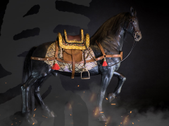 Horse (Black) 1/6 Scale Figure