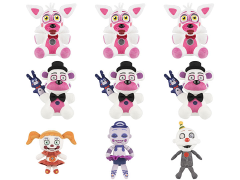 "Five Nights at Freddy's: Sister Location 6"" Plush - Box of 9"
