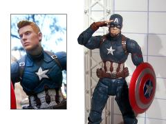 Captain America: Civil War Select Unmasked Captain America