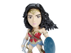 "Wonder Woman Metals Die Cast 4"" Wonder Woman Figure"