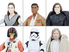 "Star Wars 3.75"" Force Link Wave 1 Set of 6 Figures"