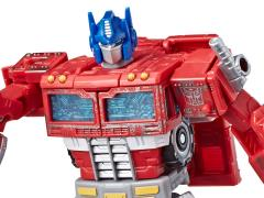 Transformers War for Cybertron: Siege Voyager Optimus Prime