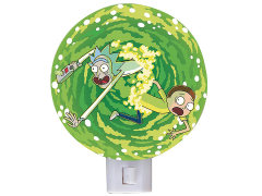 Rick and Morty Portal Night Light