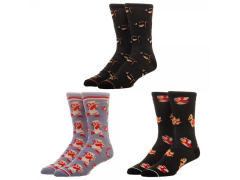 Super Mario Crew Socks Three-Pack