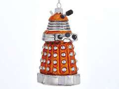 Doctor Who Orange Dalek Glass Ornament