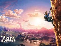 The Legend of Zelda Puzzle Scaling Hyrule (Breath of the Wild)