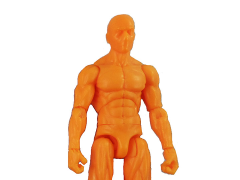 Vitruvian H.A.C.K.S. Male Figure Blank (Sunset Orange)