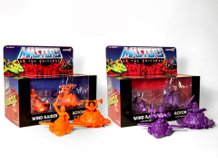 MOTU M.U.S.C.L.E. Set of 2 (Orange & Purple) SDCC 2017 Exclusive Two-Packs