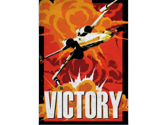Star Wars Galactic Propaganda Victory Displate Metal Print
