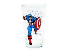 Marvel Comics Toon Tumblers Captain America Pint Glass