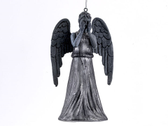Doctor Who Weeping Angel Glass Ornament