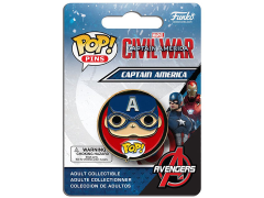 Pop! Pins: Civil War - Captain America
