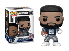 Pop! Football: Cowboys - Ezekiel Elliott (Away)