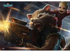 Guardians of the Galaxy Vol. 2 Rocket and Baby Groot MightyPrint
