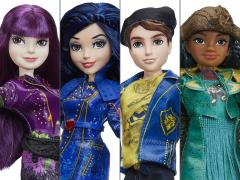 Disney Descendants 2 Signature Figure Set of 4