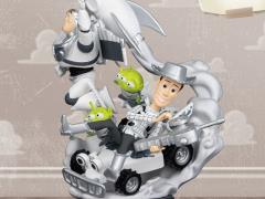 Toy Story D-Stage DS-032 Buzz and Woody (Galaxy Color Ver.) PX Previews Exclusive Statue