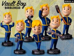 Fallout 4 Vault Boy 111 Bobblehead Series 1 Set of 7
